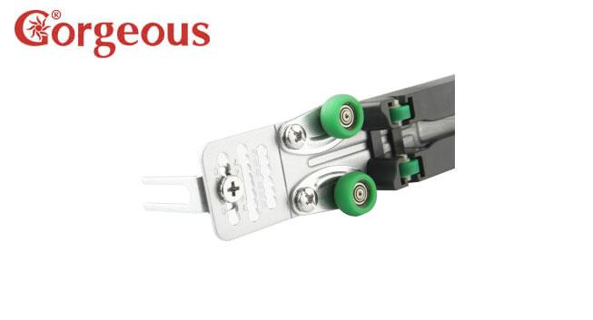 衣柜移门缓冲器阻尼器衣橱推拉门滑轮防撞器滑翔者