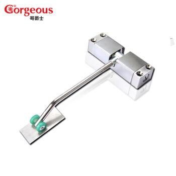 简易闭门器180度无缓冲带弹簧小型隐形自动家用关门器