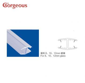 BL-580 H型双边夹玻璃防水胶条